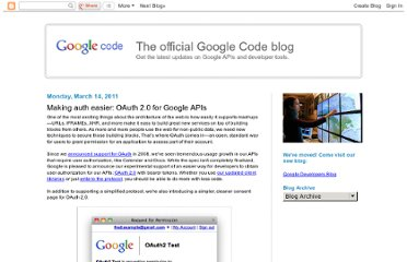 http://googlecode.blogspot.com/2011/03/making-auth-easier-oauth-20-for-google.html