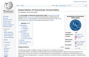 http://en.wikipedia.org/wiki/Association_of_American_Universities