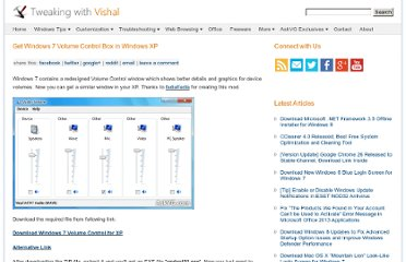 http://www.askvg.com/get-windows-7-volume-control-box-in-windows-xp/