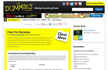 http://www.dummies.com/how-to/content/prezi-for-dummies-cheat-sheet.html