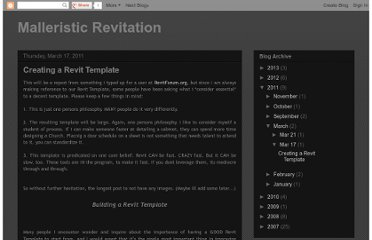 http://malleristicrevitation.blogspot.com/2011/03/creating-revit-template.html