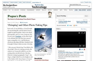 http://pogue.blogs.nytimes.com/2011/03/17/chimping-and-other-photo-taking-tips/