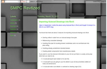 http://smpcrevtized.blogspot.com/2011/03/importing-autocad-drawings-into-revit.html