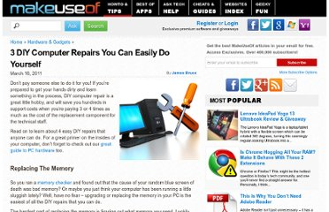 http://www.makeuseof.com/tag/3-diy-computer-repairs-easily/