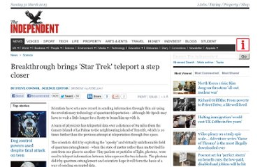 http://www.independent.co.uk/news/science/breakthrough-brings-star-trek-teleport-a-step-closer-451673.html