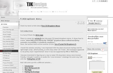 http://www.tjkdesign.com/articles/dropdown/default.asp