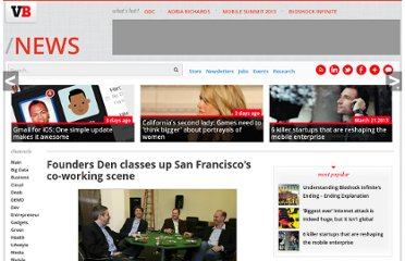 http://venturebeat.com/2011/01/11/founders-den-co-working-launch/