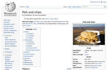 http://en.wikipedia.org/wiki/Fish_and_chips