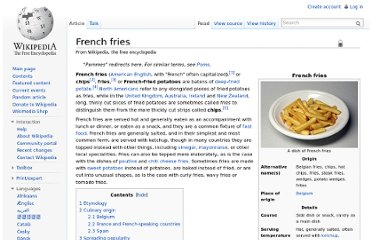 http://en.wikipedia.org/wiki/French_fries#Chips