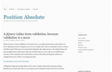 http://www.position-absolute.com/articles/jquery-form-validator-because-form-validation-is-a-mess/