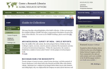 http://www.crl.edu/area-studies/samp/collections/guides