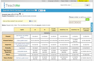 http://www.123teachme.com/spanish_verb_conjugation/aburrirse