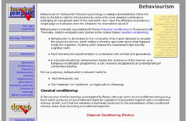 http://www.learningandteaching.info/learning/behaviour.htm