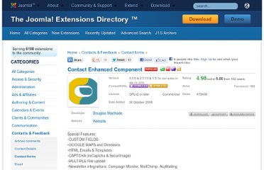 http://extensions.joomla.org/extensions/contacts-and-feedback/contact-forms/6343