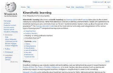 http://en.wikipedia.org/wiki/Kinesthetic_learning