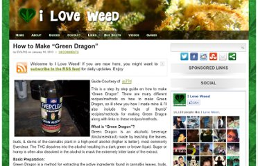 http://iloveweed.net/guides/how-to-make-green-dragon