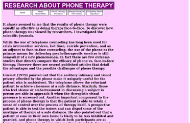 http://www.tele-therapist.com/research.htm