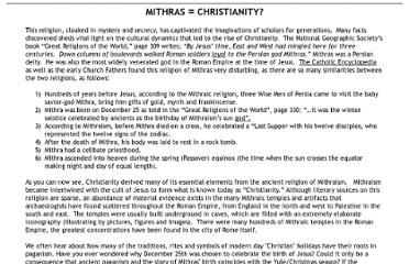 http://www.christianity-revealed.com/cr/files/mithraschristianity.html