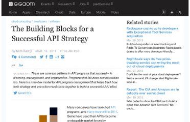 http://gigaom.com/2011/03/19/the-building-blocks-for-a-successful-api-strategy/