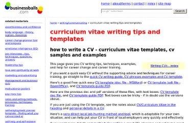 http://www.businessballs.com/curriculum.htm#cv_writing_examples_samples_descriptions_phrases_words