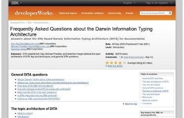 http://www.ibm.com/developerworks/xml/library/x-dita3/