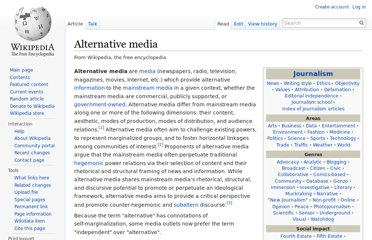 http://en.wikipedia.org/wiki/Alternative_media