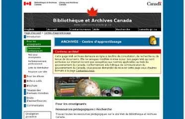 http://www.collectionscanada.gc.ca/education/008-100.01-f.php