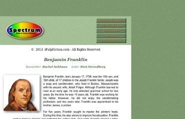 http://www.incwell.com/Biographies/Franklin.html