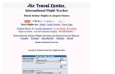 http://airtravelcenter.com/flight-tracker.htm