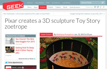 http://www.geek.com/articles/geek-cetera/pixar-creates-a-3d-sculpture-toy-story-zoetrope-20110112/