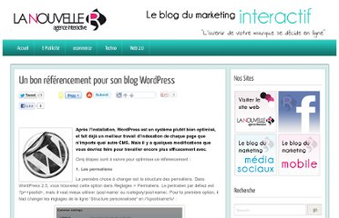 http://blog.lanouvelle-r.com/marketinginteractif/2011/03/07/un-bon-referencement-pour-son-blog-wordpress/