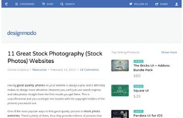 http://designmodo.com/11-great-stock-photography-stock-photos-websites/
