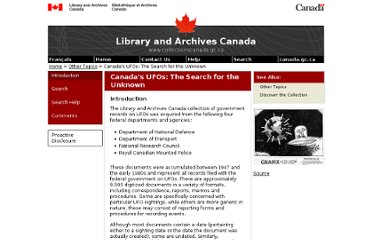 http://www.collectionscanada.gc.ca/databases/ufo/index-e.html