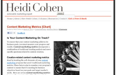 http://heidicohen.com/content-marketing-metrics/