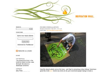 http://lisastown.com/inspirationwall/2010/09/13/pro-bike-guerrilla-artists/
