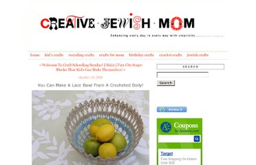 http://www.creativejewishmom.com/2010/10/you-can-make-a-bowl-from-a-crocheted-doily.html