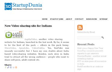 http://www.startupdunia.com/technology/new-video-sharing-site-for-indians-65