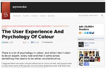 http://spyrestudios.com/the-user-experience-and-psychology-of-colour/