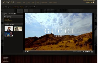 http://www.gucci.com/us/worldofgucci/videos/spring-summer-2011-bts-video