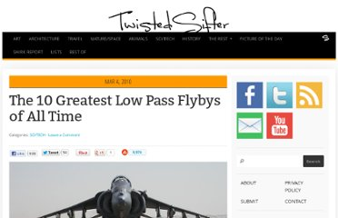 http://twistedsifter.com/2010/03/10-greatest-low-pass-flybys/
