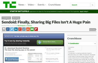 http://techcrunch.com/2011/03/21/sendoid-finally-sharing-big-files-isnt-a-huge-pain/