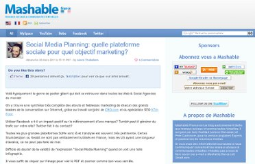http://fr.mashable.com/2011/03/20/sociale-media-planning-quelle-plateforme-sociale-pour-quel-objectif-marketing/