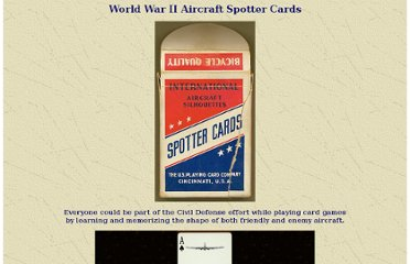 http://www.ameshistoricalsociety.org/exhibits/events/aircraft_spotting_cards.htm