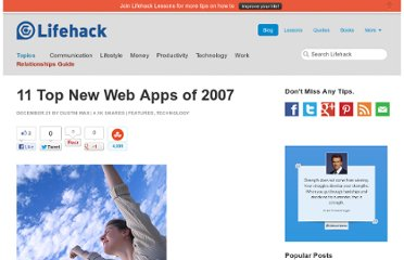http://www.lifehack.org/articles/technology/11-top-new-web-apps-of-2007.html