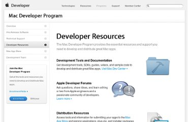 http://developer.apple.com/programs/mac/resources.html