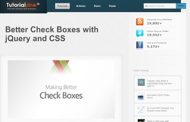 http://tutorialzine.com/2011/03/better-check-boxes-jquery-css/