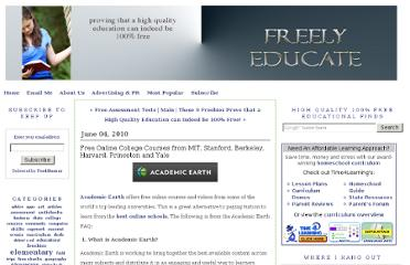 http://www.freelyeducate.com/2010/06/free-online-college-courses-from-mit-stanford-berkeley-harvard-princeton-and-yale.html