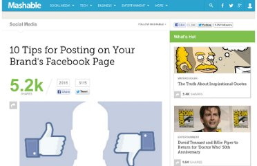http://mashable.com/2011/03/22/tips-brand-facebook-page/
