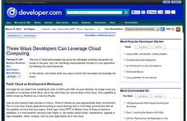 http://www.developer.com/services/three-ways-developers-can-leverage-cloud-computing.html
