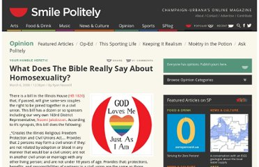 http://www.smilepolitely.com/opinion/what_does_the_bible_really_say_about_homosexuality/